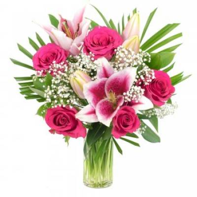 """""""Rose and Lily"""" Bouquet"""