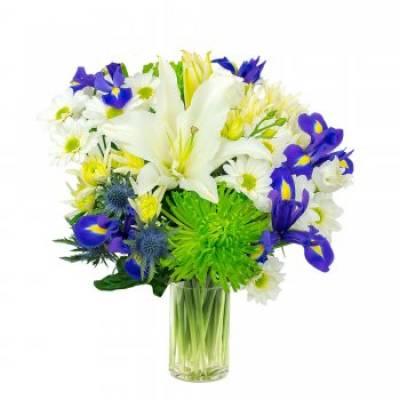 Blue Lagoon Floral Bouquet