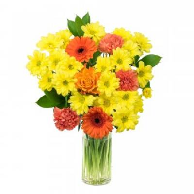 """Sunrise"" Fresh Floral Bouquet"