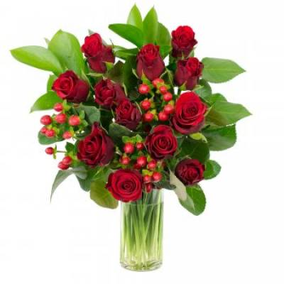 ''Timeless Romance'' Floral Bouquet - Romance Gifts