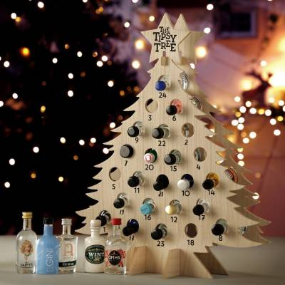 Gin Advent Tipsy Tree
