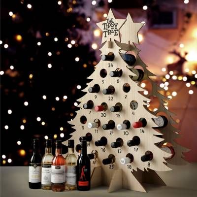 Wine Advent Tipsy Tree