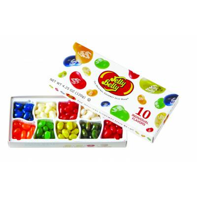 Jelly Belly 10 Flavours Gift Box - Jelly Belly Gifts