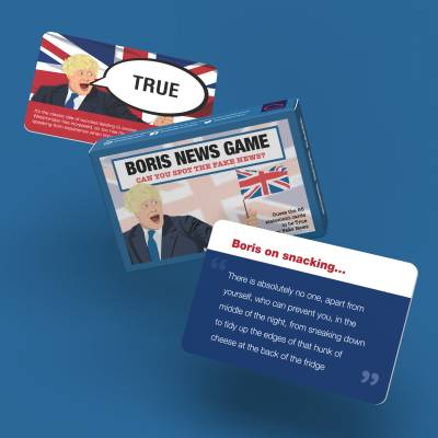 Fake News Boris Edition Card Game