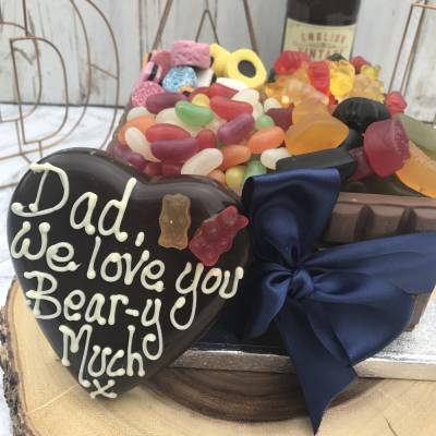 Personalised Fathers Day Chocolate Box