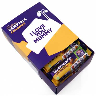 Personalised Box Of Cadbury Caramel