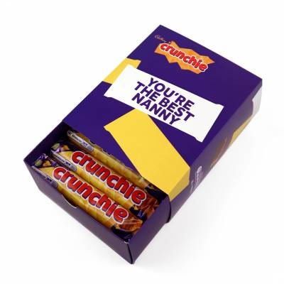 Personalised Box Of Cadbury Crunchie