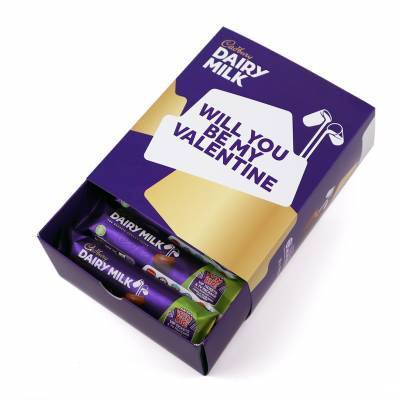 Personalised Box Of Cadbury Dairy Milk - Cadbury Gifts