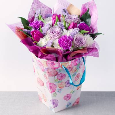 Lavender Bloom Gift Bag - Lavender Gifts