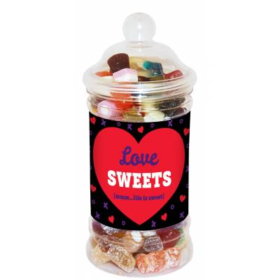 Love Sweets Jar - Sweets Gifts