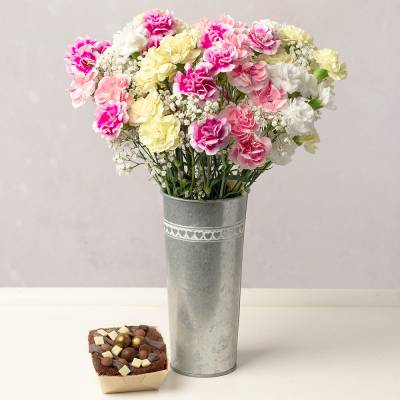 Birthday Flower Gift Chocolate
