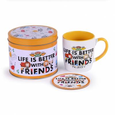 Friends Mug and Coaster Set