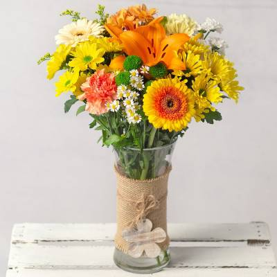 Sunshine Delight - Flowers Gifts