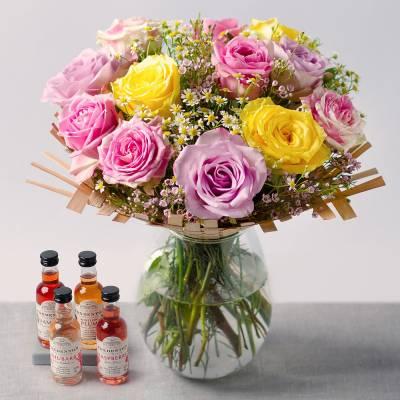 Spring Roses Gin Gift