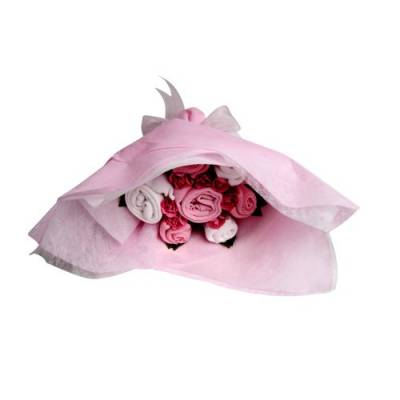 Baby Girl Pink Welcome Bouquet - Baby Girl Gifts