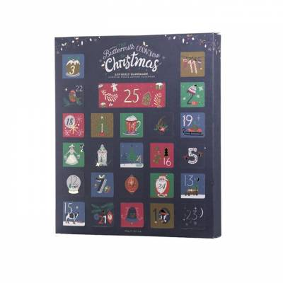Buttermilk Fudge Filled Advent Calendar - SALE - WAS £13.99 - Fudge Gifts