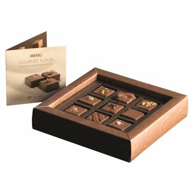 Luxury Chocolate Enrobed Fudge Selection - Luxury Chocolate Gifts