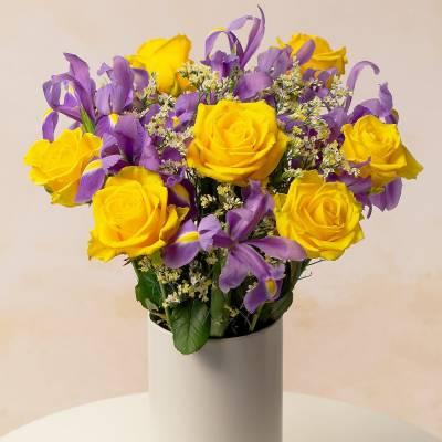Roses & Iris