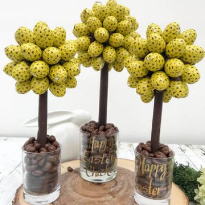 Personalised Galaxy Caramel Egg Tree