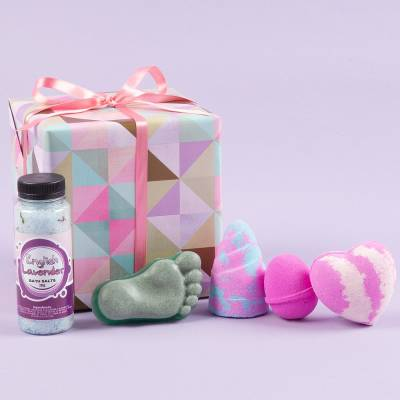 Powderpuff Pamper Gift Set - Pamper Gifts