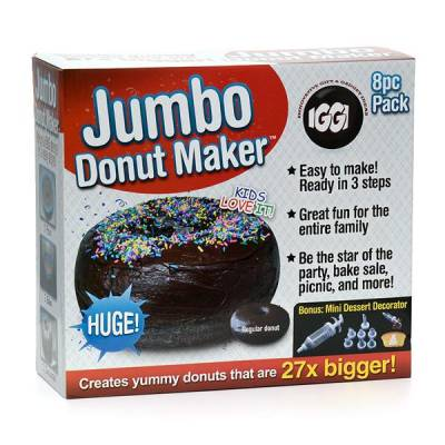 giant donut maker funky hampers. Black Bedroom Furniture Sets. Home Design Ideas