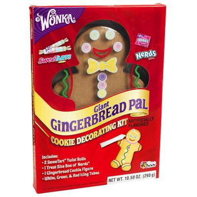 Make Your Own Giant Wonka Gingerbread Man