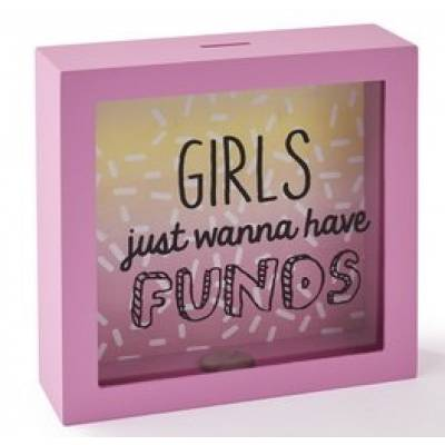 Girls Just Wanna Have Funds Money Box