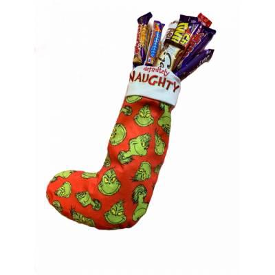 The Grinch Naughty Chocolate Stocking