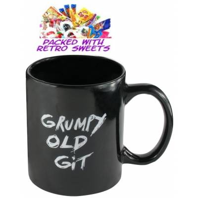 Grumpy Old Git Mug Cuppa Sweets