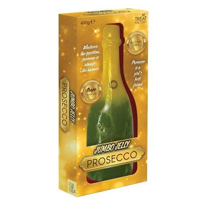 Giant Gummy Prosecco Bottle
