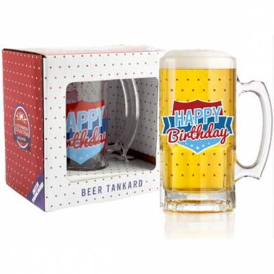 Happy Birthday Beer Tankard