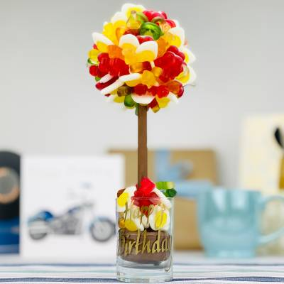 Personalised Haribo Funky Sweet Tree 25cm - Haribo Gifts