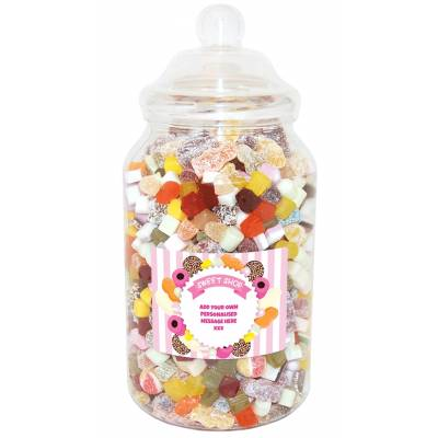 Personalised Giant Victorian Sweet Jar
