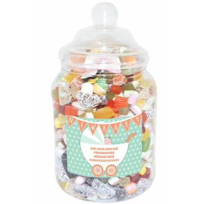 Personalised Baby Large Sweet Jar