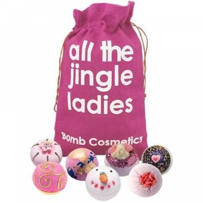 All The Jingle Ladies Bath Bomb Set