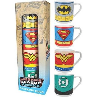 Justice League Mug Set