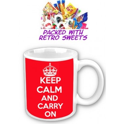 Keep Calm And Carry On Cuppa Sweets