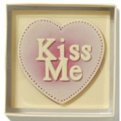 Kiss Me Chocolate Slab