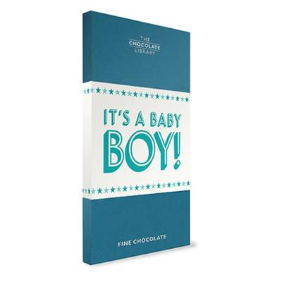 New Baby Boy Chocolate bar - Baby Boy Gifts