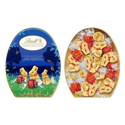 Lindt Gold Bunny Easter Assortment Tin 330g