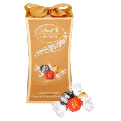 Lindt Lindor Assorted Bow Box 75g