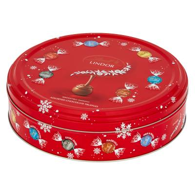 Lindt Lindor Christmas Selection Gift Tin
