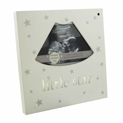 Little Star Light Up Baby Scan Frame