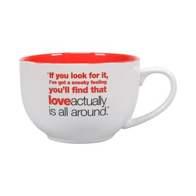 Romantic Gifts Love Actually Giant Mug