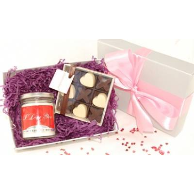 I Love You Candle Gift Box
