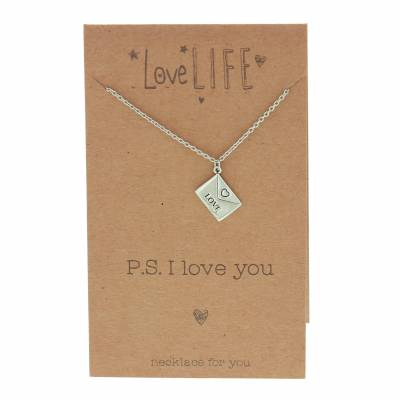 Click to view product details and reviews for Love Letter Necklace.