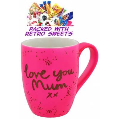 Love You mum Cuppa Sweets - Sweets Gifts