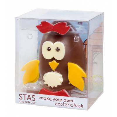 Easter funky hampers make your own easter chick negle
