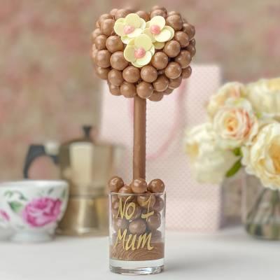 Malteser Heart and Daisy Chocolate Tree