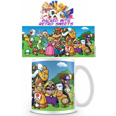 Mario Brothers Collage Cuppa Sweets - Sweets Gifts